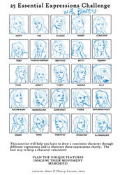 Expression Challenge: Blaire by burdge