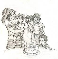 Happy Birthday, Harry by burdge