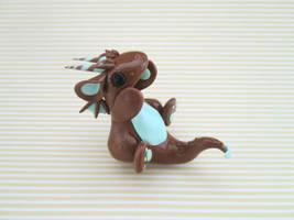 Mint Chocolate Dragon by KriannaCrafts