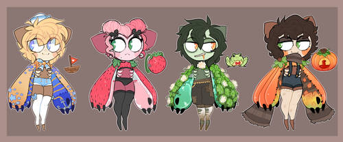 [Hibou Species] Adoptables : 01 [CLOSED] by SC00TY