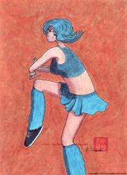 Blue Raver by AchisutoShinzo