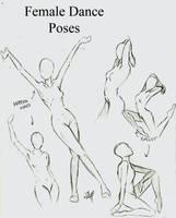 Female Dance Poses by momohana2