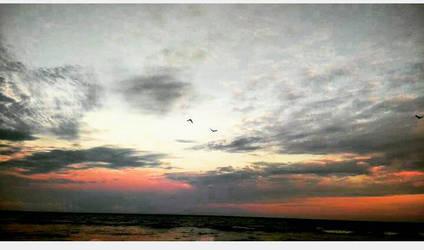 sunset  by OliviaManna