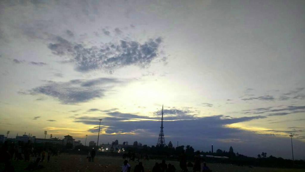 Sunset in chennai  by OliviaManna