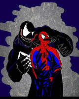 spiderman vs venom by Peter-Sefcik