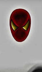 Spider Man Mask by nitinrajput90