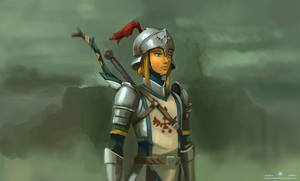 Link - Knight Armor by Adam-Gilbert