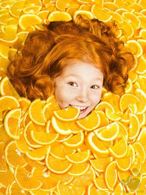 Pure Orange by armene