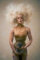 Portrait with chinchilla by armene