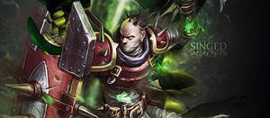 Singed -League Of Legends Sign by MuRiKbr