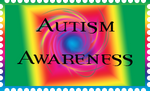 Autism Stamp by RoseDragonGuardian92