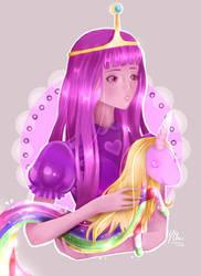 Princess Bubblegum by YuukoChii