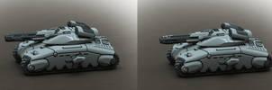 Marhaf Legion Heavy Tank by Hongablaster