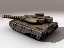 Hammerhead Heavy Tank by Hongablaster