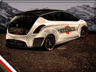 Lancia Delta HP COX Back by enth3os