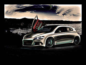 VW Scirocco 'Street menace' by enth3os