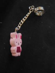 Bunny pen charm by luv4horsez