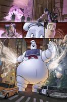 Ghostbusters 1 page 5 by luisdelgado
