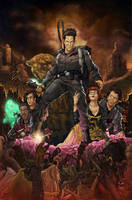 Army of Darkness Ghostbusters by luisdelgado