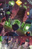 Ghostbusters 5 page 19 by luisdelgado