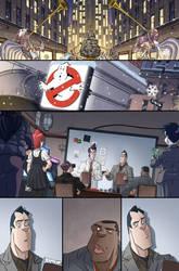 Ghostbusters #11 page 15 by luisdelgado