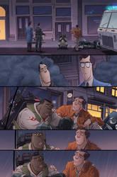 Ghostbusters #20 page 19 by luisdelgado