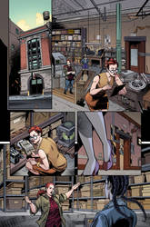 Ghostbusters Annual 2: Ghostbuster 101 prelude by luisdelgado