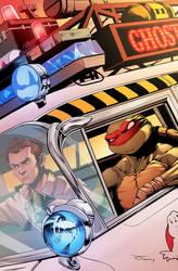 TMNT/Ghostbusters II by luisdelgado