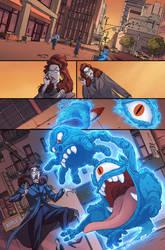 TMNT/Ghostbusters II #1 page 01 by luisdelgado
