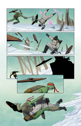 TMNT/Ghostbusters II #4 page 12 by luisdelgado