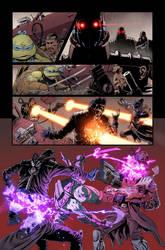 TMNT/Ghostbusters II #2 page 15 by luisdelgado