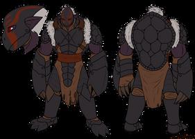 Vlozress Turtle Armor Berserker by DarkVolt