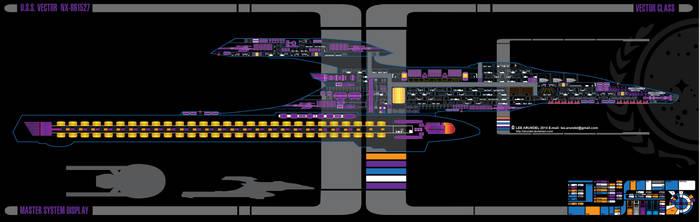 Vector class starship by larundel