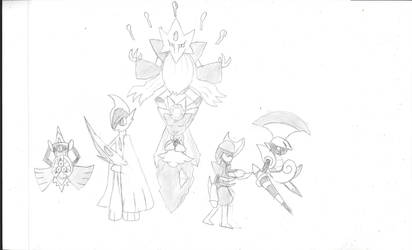 Diancie Team Request by draconic13
