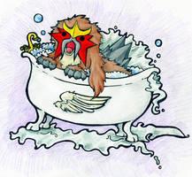 Entei's Majik Bathtub by Hiemsoshi