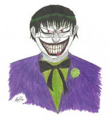 Braxton as the Joker by DevilsDarkMessiah