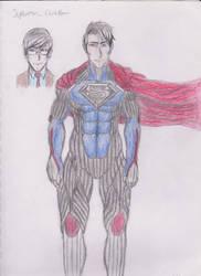 Superman / Clark Kent Redesign by DevilsDarkMessiah