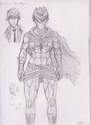 Batman (Young) Redesign by DevilsDarkMessiah