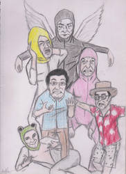 The Filthy Crew by DevilsDarkMessiah