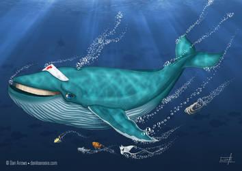 Whale Hospital by daniloaroeira