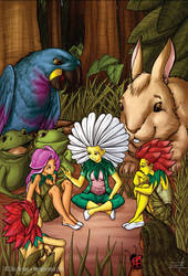 Lorena and friends by daniloaroeira
