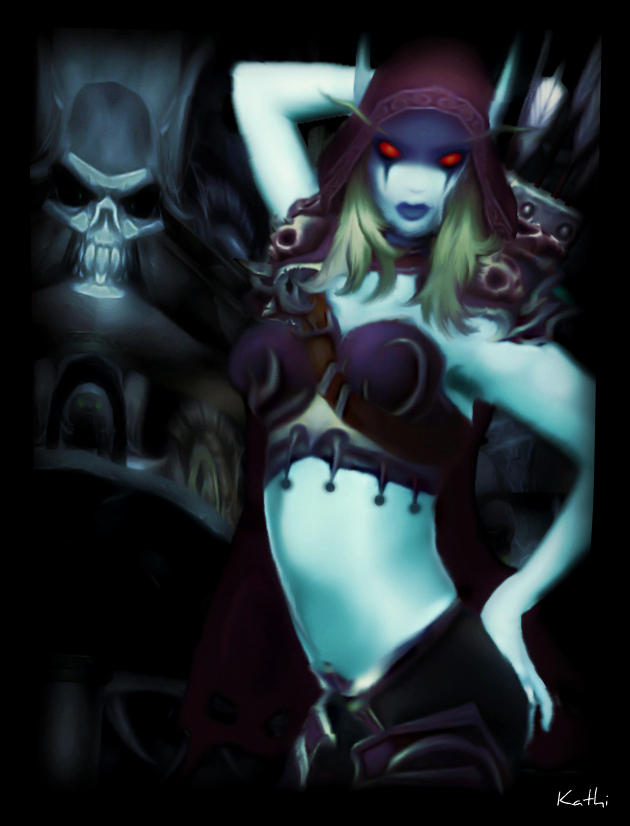 Lady Sylvanas Windrunner by Kathamausl
