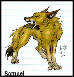 samael doodle. -COLORED- by kruzniik