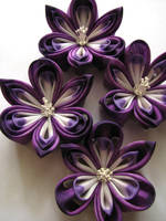 Custom order Purple Orchids by offgenemi