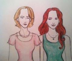 evans sisters 01 by colloween