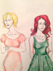 Evans Sisters 02 by colloween