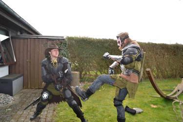 Wastelander brawl 9 by Fredderman