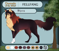 Dotw Fellfang application Sheru by ShishiNoSeirei