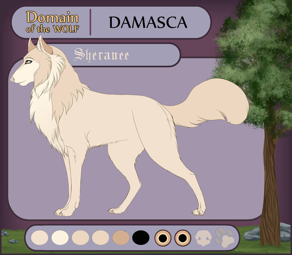 Damasca application Sheranee by ShishiNoSeirei
