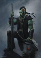 Gro'Mesh, the demonslayer by RoBs0n